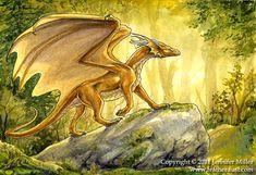 peaaria k'eidolen al'ruaten, watercolor Dragon Heart, Dragon Rider, Fantasy Dragon, Dusk, Medieval, Deviantart, Watercolor, Jennifer Miller, Artwork