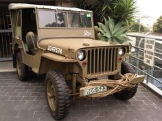 1942 Willys MB named Ros - Photo submitted by Chris Kourtis.