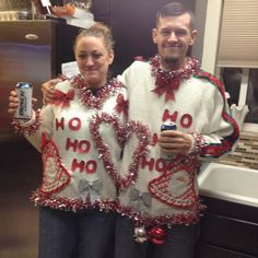 As you probably already noticed, ugly Christmas sweaters are A Thing. Whether you're heading to an ugly Christmas sweater party or you just want to get festive for the holidays, something bright, bold, and full of tacky goodness can really get you into the Christmas spirit. If you've ever tried to buy one of these purposely ugly sweaters, then you might have noticed that they are… crazy expensive. Like, who wants to spend that much on a purposely ugly shirt that they will wear once or twice?