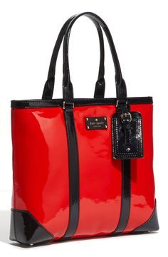Kate Spade new york 'barclay street - dama' patent leather tote