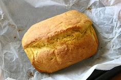 Fa'apapa is a coconut bread that is traditionally wrapped in leaves and baked in an umu (Samoan oven).