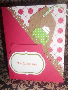 A card and tags all in one!