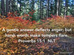 Gentle - Proverbs 15:1