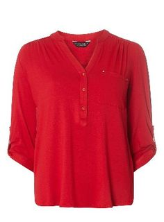 Dorothy Perkins Womens Red Jersey Shirt- Red DP05681999 Red shirt with jersey detail, approximately wearing length 70cm. 96% Viscose, 4% Elastane. Machine washable. http://www.MightGet.com/january-2017-13/dorothy-perkins-womens-red-jersey-shirt-red-dp05681999.asp