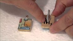 How to glue bails to your resin jewelry charms
