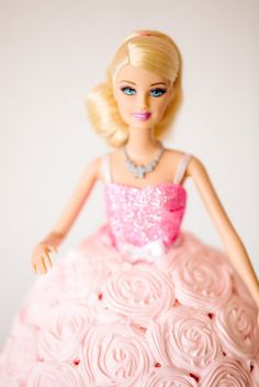 Barbie™ Cake :: Barbie™ Glam Birthday Party styled by The TomKat Studio