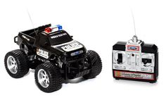 Free! Just for visiting their website. You do have to pay shipping.  Ford F-150 1:24 Electric RTR RC Police Truck (One Per Household)