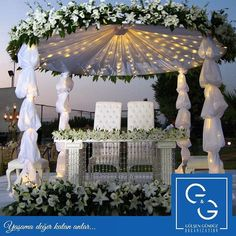 """""""Hayalinizde nasıl bir düğün var? Bir düğün organizasyonu içinde yer alabilecek tüm bileşenleri bir araya getirerek sizler için hayatınızın en önemli gününü unutulmaz kılıyoruz.📞+90 212 230 59 75 👉www.ggorganization.com  #ggorganization #decoration #organization #design #decor #düğün #wedding #eventplanning #eventplanner #eventideasconcept #organizasyon #işimiziseviyoruz #mutluçalışanlarderneği✌🏻💙"""" by @ggorganization_gg.  #bride #weddingday #weddingdress #weddingphotography #bridal…"""
