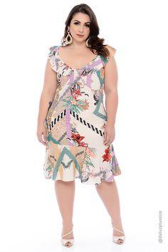 Vestido-plus-size-kayley – daluzplussize Vestidos Plus Size, Plus Size Dresses, Plus Size Outfits, Stylish Plus Size Clothing, Plus Size Fashion For Women, Plus Size Girls, Plus Size Tops, Plus Size Summer Outfit, Frock Fashion