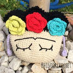 Monedero Frida a crochet ❤