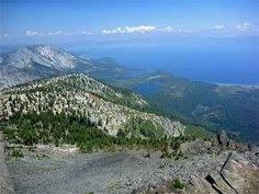 Mount Tallac - view north