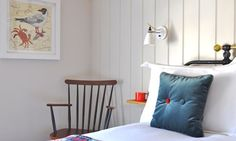 The Bear Bed and Breakfast at Hay on Wye Bedroom With Ensuite, White Bedroom, Fishermans Cottage, Welsh Blanket, Wrought Iron Beds, Retro Furniture, Mid Century Furniture, First Home, Bed And Breakfast