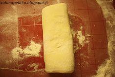 Suklaapeikon keittiössä: Pitkät viinerit Bread, Ethnic Recipes, Seo, Brot, Baking, Breads, Buns