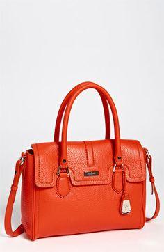 1ad586f118f Cole Haan Brooke Village Satchel in Spicy Orange Orange Handbag