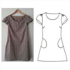 Image of Patron La Printanière Diy Clothing, Sewing Clothes, Clothing Patterns, Dress Patterns, Diy Vetement, Diy Fashion, Fashion Design, Fashion Jewelry, Couture Sewing