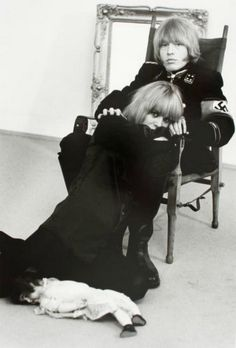 theswinginsixties:    Brian Jones and Anita Pallenberg, 1966. Photo by Werner Bokelberg.