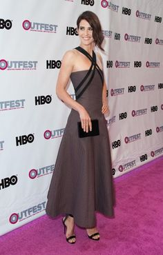 Cobie Smulders  2016 Outfest Los Angeles LGBT Film Festival  Opening Night Gala Of 'The Intervention'  Orpheum, Los Angeles, California 7th July 2016