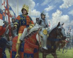 Studio 88 Limited Richard III at the Battle of Bosworth - Original oil painting