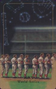 Baseball Tarot The World (Series)