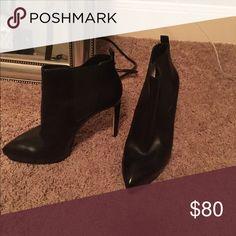 "MK booties MK booties 5"" heel like new. Worn twice Michael Kors Shoes Ankle Boots & Booties"