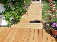 Terrassendielen aus Lärchen-Holz