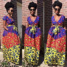 Three layer maxi dress