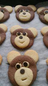 Füsununmutfağı: AYICIK KURABİYE Cupcakes, Biscuit Cookies, Homemade Beauty Products, Cookie Bars, Coffee Break, Baby Food Recipes, Tea Time, Food And Drink, Cooking