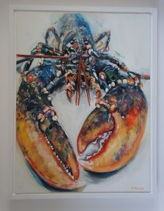 Lobster, Painting by Michelle Parsons | Artfinder