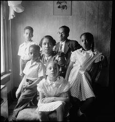 Family Portrait, Fort Scott, Kansas, 1950 - Back to Fort Scott, 1950 - Archive - The Gordon Parks Foundation
