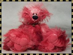 Peony, an Original Design Teddy by The Bear Menagerie