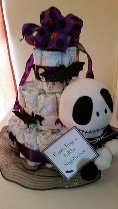 Diaper Cake Halloween.  Cost... $60