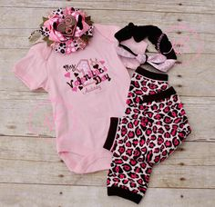 She needs this! Lol Babys First Valentines Day Outfit: My 1st Valentines by KenaBows