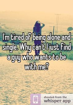 Feeling sad about being single