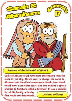 Hero Resources For The Kids Ministry Lesson On Sarah And Abraham Genesis High Quality Graphic Colouring Pages Take Home Card