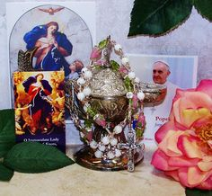 Traditional Catholic Chaplet of Our Lady Undoer of Knots, Untier of Knots Rosary…