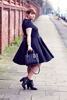 Perfect Work Outfits For Plus Size Women : Too much good taste can be very boring. Independent style, on the other hand, can be very inspiring.
