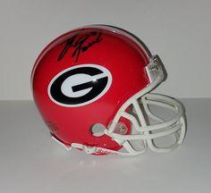 David Pollack Georgia Bulldogs Mini Helmet - Autographed Hand Signed #DavidPollack #UGA #GeorgiaBulldogs
