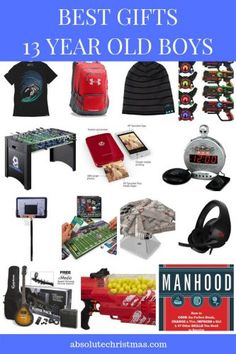 Best Gifts For Boys Age 13