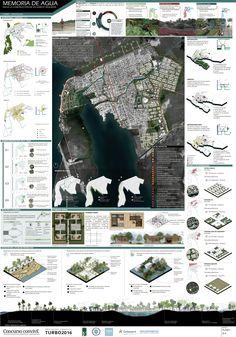 View full picture gallery of Memoria De Agua - ConvivE XI Architecture Site Plan, Architecture Presentation Board, Presentation Layout, Architecture Graphics, Concept Architecture, Architecture Panel, Masterplan Architecture, Architectural Presentation, Japanese Architecture