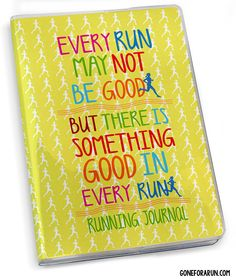 Log all of your running training, goals and achievements for your next race in your own motivational running journal! goneforarun.com
