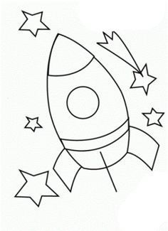 Rocket printable coloring pages 2 Rocket printable coloring pages 2 Space Coloring Pages, Coloring Sheets, Coloring Pages For Kids, Free Coloring, Coloring Books, Space Party, Space Theme, Baby Drawing, Sewing Projects For Kids