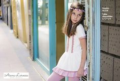Vestido boho para niña ya disponible en http://aianalarocca.com/ #modainfantil