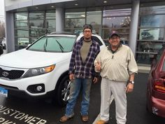 Here is Shawn Terra taking delivery of his loaded up 2012 Kia Sorento EX AWD with premium and technology packages from his sales consultant, David Jordan. Congratulations Shawn, we are so happy to welcome you to the Gary Rome Kia family!  Www.GaryRomeKia.com or call us at (860) 253-4753