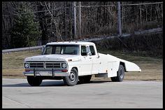 T88 1970 Ford F350 Crew Cab Factory Car Hauler East Coast Ford Drag Team Hauler Photo 1