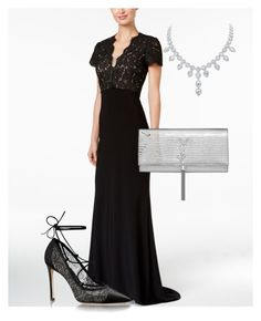 """""""Night at the opera"""" by tb3rry on Polyvore featuring Betsy & Adam and Yves Saint Laurent"""