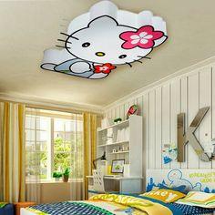 Huge Hello Kitty Light Fixture