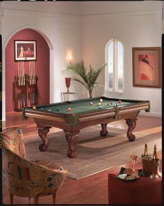 The Brunswick Desoto Pool Table With Beautiful Curved Legs And Many - Brunswick pool table ping pong top