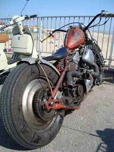 Take a look at this trendy chopper motorcycle hells angels - what a very creative design and development Sportster Chopper, Harley Panhead, Harley Davidson Knucklehead, Chopper Motorcycle, Harley Davidson Motorcycles, Retro Bikes, Yamaha 535 Virago, Vespa, Mad Max