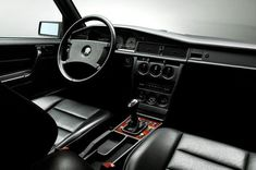 Mercedes-Benz 190e EVO II interior black