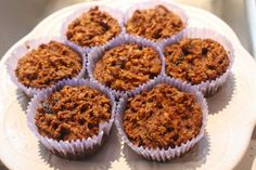 the starving inspired | by Iris Hanlin: morning glory muffins {recipe} Gluten Free & Paleo Safe
